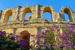 Altes römisches Amphitheater Stockbild