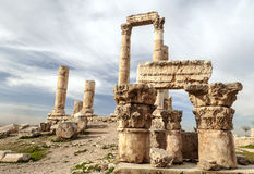 Altes römisches bleibt lizenzfreie stockfotos