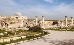Altes römisches bleibt stockbild