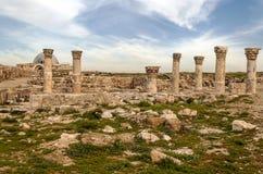 Altes römisches bleibt stockfotos