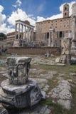 Altes römisches Forum in Griechenland Lizenzfreie Stockbilder