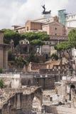 Altes römisches Forum in Griechenland Stockbild