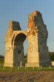 Altes römisches Gatter (Überblick) Lizenzfreies Stockfoto