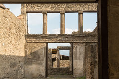 Altes römisches Haus Stockfoto