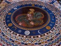 Altes römisches Mosaik Stockbilder