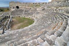 Altes römisches Theater Stockbild