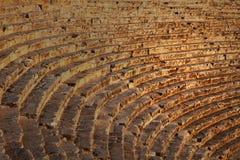 Altes römisches Theater in der Türkei Stockbilder