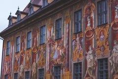 Altes Rathaus ściana obraz stock