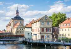Altes Rathaus της Βαμβέργης Στοκ Εικόνες