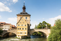 Altes Rathaus of Bamberg Royalty Free Stock Photos
