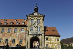 Altes Rathaus, Bamberga Imagens de Stock