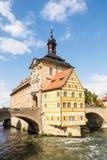 Altes Rathaus de Bamberg Photographie stock