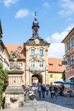 Altes Rathaus de Bamberg Photo stock