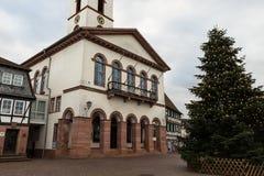 Altes Rathaus in der Stadt #2 Lizenzfreies Stockbild