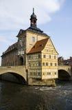 Altes Rathaus en Bamberg Fotos de archivo libres de regalías