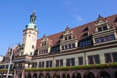 Altes Rathaus - Leipzig, Germania Immagine Stock