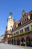 Altes Rathaus - Leipzig, Germania Fotografia Stock Libera da Diritti