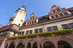 Altes Rathaus - Leipzig, Germany Royalty Free Stock Photo