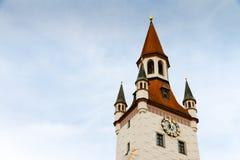 Altes Rathaus in München, Deutschland lizenzfreies stockfoto
