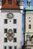 Altes Rathaus - München - Duitsland Royalty-vrije Stock Foto's