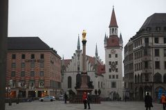 Altes Rathaus at Marienplatz in Munich, Germany. Royalty Free Stock Image