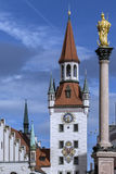 Altes Rathaus - Mariensaule - Munich - Germany Stock Photo