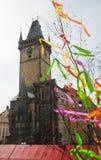 Altes Rathaus in Prag, Tschechische Republik Stockfotografie