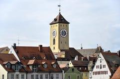 Altes Rathaus Regensburgs (Deutschland) Stockbild