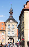 Altes Rathaus van Bamberg Royalty-vrije Stock Foto