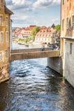 Altes Rathaus von Bamberg Stockfotos