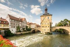 Altes Rathaus von Bamberg Lizenzfreies Stockbild