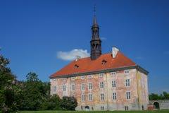 Altes Rathaus von Narva, Estland Lizenzfreies Stockfoto