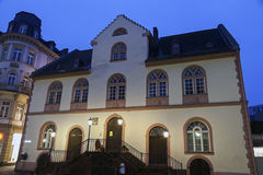 Altes Rathaus in Wiesbaden Stockfotos