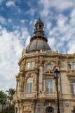 Altes Regierungs-Gebäude in Cartagena Spanien Stockfotos
