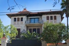 Altes reizend Palma-Landhaus Stockbilder