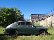 Altes Retro- Auto Stockfoto