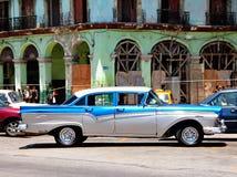 Altes Retro- Auto in Havana, Kuba Lizenzfreies Stockfoto