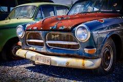 Altes Retro- Auto Volvo Stockfotos