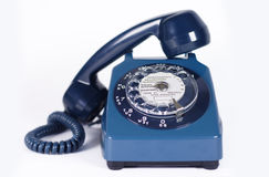 Altes Retro- Telefon Stockfoto