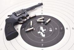 Altes Gewehr mit Kugel Lizenzfreie Stockfotos
