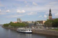Altes Riga Stockfoto