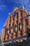 Altes Riga - eine der schönsten Städte Stockbilder