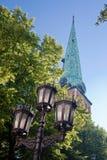 Altes Riga. Lettland Stockfoto