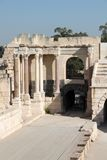 Altes römisches Theater Stockfotos