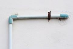 Altes Rohr des Wasserarbeitssystems Lizenzfreies Stockfoto