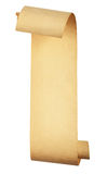 Altes Rollepapier Lizenzfreies Stockfoto