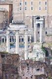 Altes Rom, palatino Stockbild