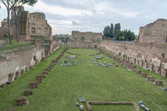 Altes Rom, palatino Lizenzfreie Stockfotos