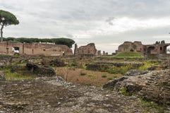 Altes Rom, palatino Lizenzfreies Stockfoto