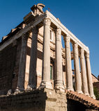 Altes Roman Forum-Gebäude Stockfotos